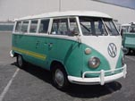 VW 13 Window Bus With Custom Graphics