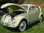 Volkswagen Bug in original color: L349 - Jade Green