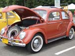 VW Bug in original color: L451 - Indian Red