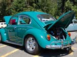 Volkswgen Bug in original paint color L518 - Java Green