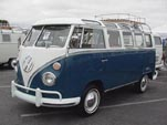 VW 21 Window With Westy Roof Rack