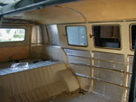 61 Westy Camper; walls insulated