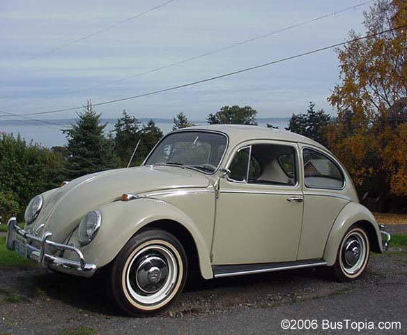 1966 Volkswagen Sunroof Bug from Bustopia.com