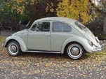VW Bug in original color L572 - Panama Beige