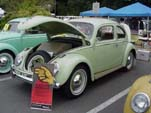 Volkswagen Bug in factory color L478 - Beryl Green