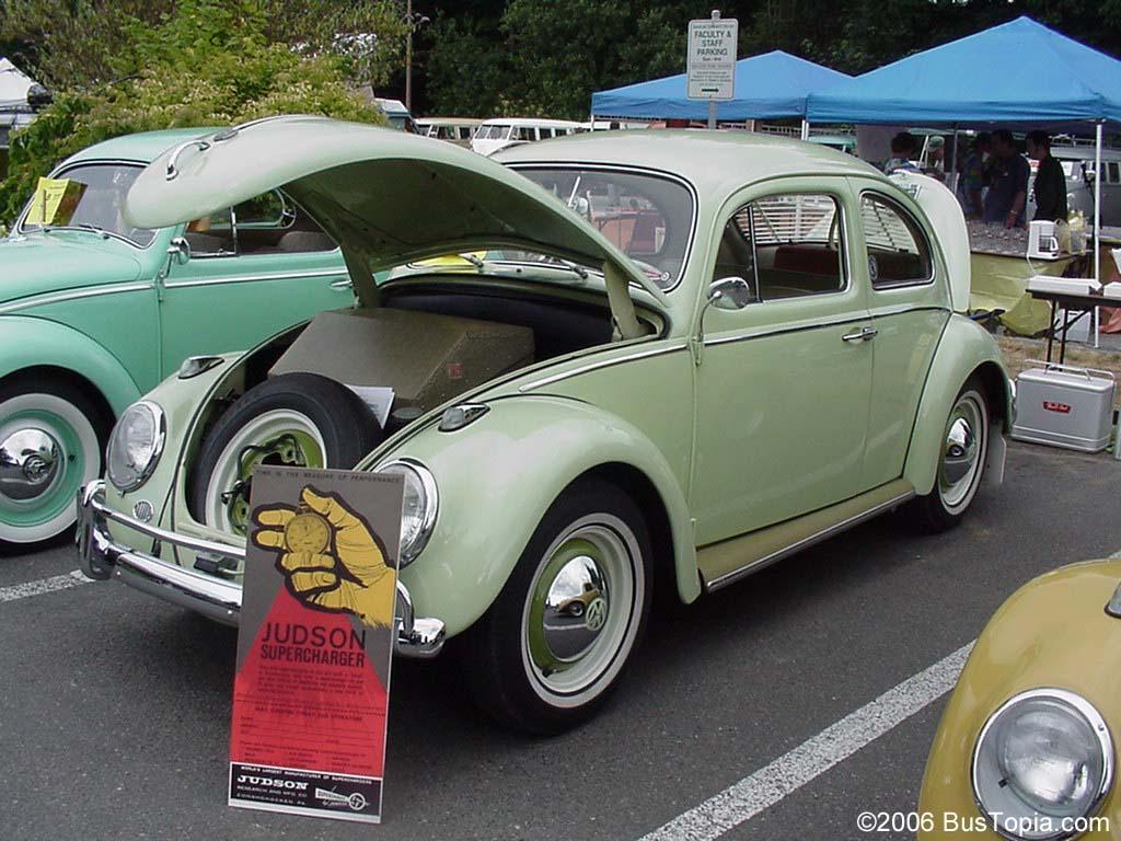 Vintage Volkswagen Bug Original Paint Color Samples, from Bustopia.com