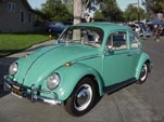 Volkswagen Bug in original L380 - Turquoise paint color