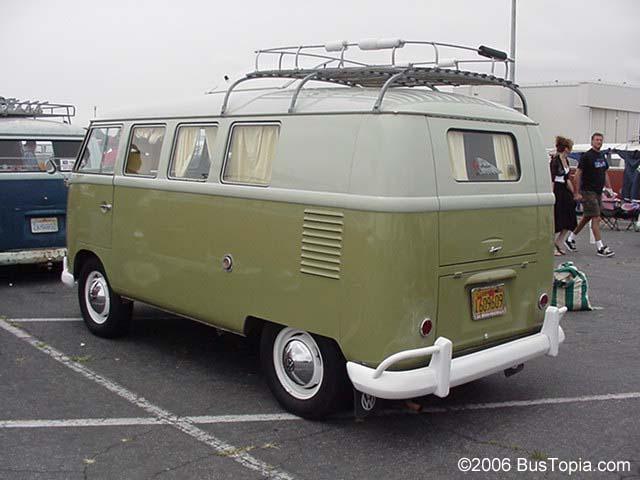 VW Westy Camper Van In Original L346