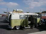 Restored VW Microbus With roof rack