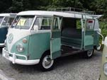 Volkswagen Microbus With Double Doors