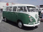 VW Microbus With Roof Rack