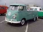 VW Type-2 Single Cab Pickup Truck in original L380 - Turquoise