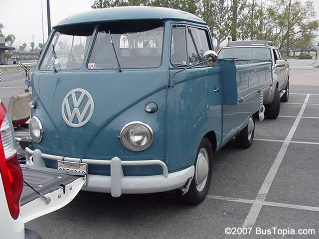 Photos Of Original Volkswagen Pickup Trucks Single Cab And Double
