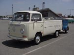 Factory Stock Volkswagen Bay Window Single Cab Pickup Truck