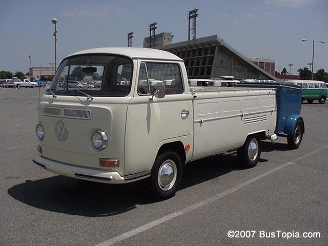 09979dc97b Photos of Original Volkswagen Pickup Trucks  Single Cab and Double ...