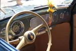 Beautifully restored interior and dashboard on the 1954 Volkswagen convertible bug