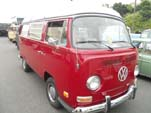 VW Bay Window Camper Van in original L30B - Kasan Red