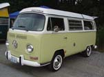 VW Bay Window Westy in L349 - Jade Green (most likely)