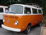 VW T2 Bay Window Bus in original L20B - Brilliant Orange