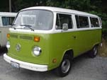 VW Type-2 Bay Window Bus in original L62H - Bali Yellow