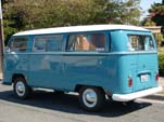 1968 VW T2 Bay Window Bus in original L50K - Neptune Blue