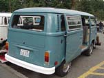 VW Bay Window Bus in original L50K - Neptune Blue
