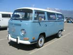 VW Bay Window Bus in original L53D - Niagra Blue