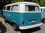 T2 VW Bay Window Bus in original L53H - Orient Blue