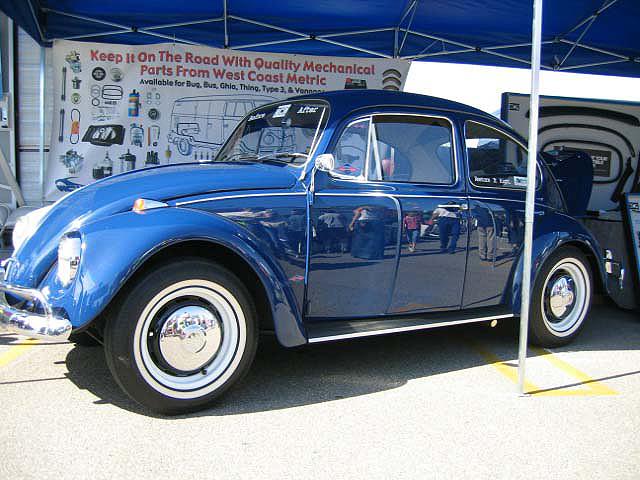 Vintage Volkswagen Bug Original Paint Color Samples From