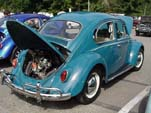 Volkswagen Bug in original paint color L360 - Sea Blue