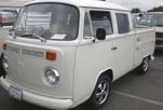 Perfect Volkswagen Bay Window Crew Cab Pickup With Porsche Rims