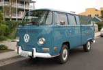 Very Clean Volkswagen Bay Window Crew Cab Pickup Truck