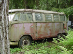 Volkswagen Junkyard has a Vintage VW 23 Window Deluxe Bus