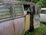 Volkswagen 23 Window Bus with Camper Interior Stored at Forgotten VW Junkyard