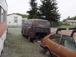 VW Storage Facility With Early Volkswagen T1 Panel Van, But Fairly Rusty Project