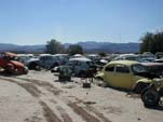 Volkswagen junkyard with loads of vintage bugs