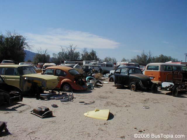 Old Abandoned Cars In Junk Yard Desert Southwest Southwestern United States Usa