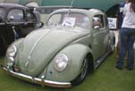 VW Split Window Ragtop Bug